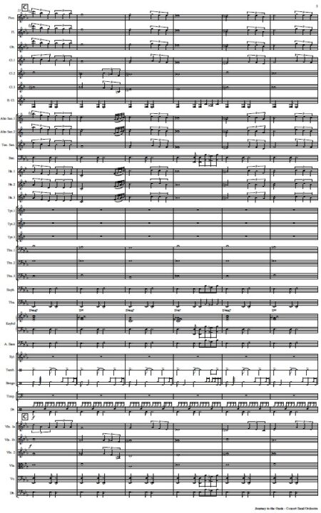 478 Journey to the Oasis Concert Band Orchestra SAMPLE page 05