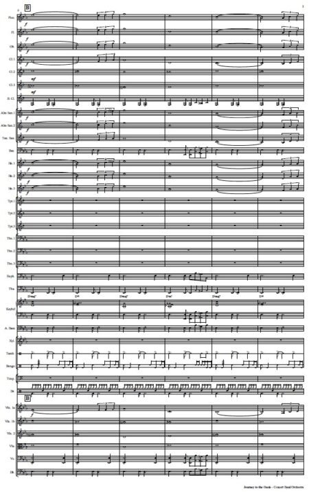 478 Journey to the Oasis Concert Band Orchestra SAMPLE page 03