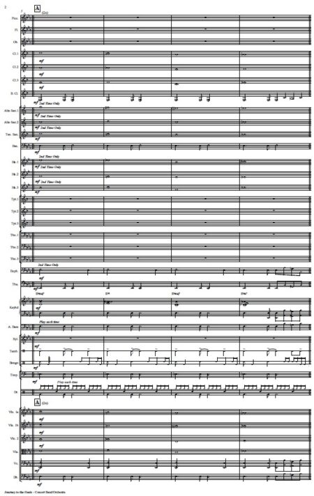 478 Journey to the Oasis Concert Band Orchestra SAMPLE page 02