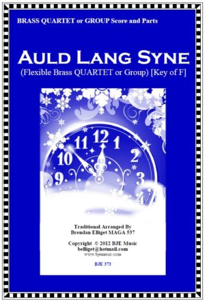 Auld Lang Syne – Flexible Brass Quartet