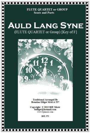 Auld Lang Syne – Flute Quartet or Group