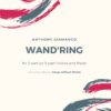 WAND'RING - SA/SAB choir & piano