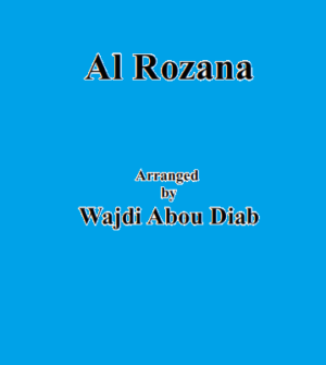 Rozana – easy arrangement for kids orchestra