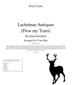 Flow My Tears – Flute Choir