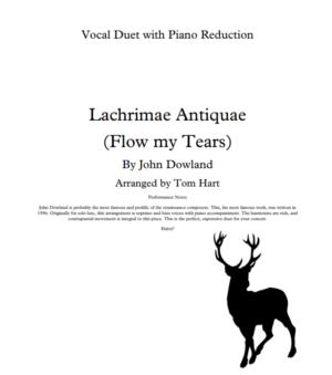 Flow My Tears – Vocal Duet
