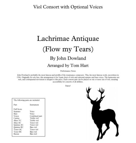 Flow my tears viols