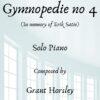 Copy of Copy of Gymnopedie no 4