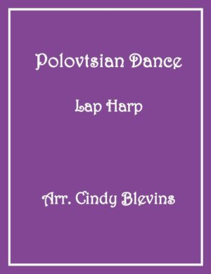 Polovtsian Dance, Lap Harp Solo with recording