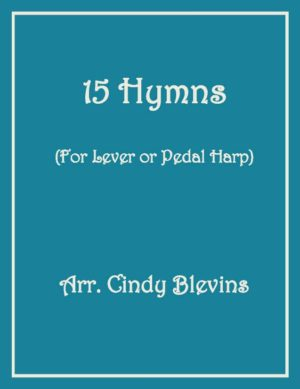 15 hymns for Lever or Pedal Harp