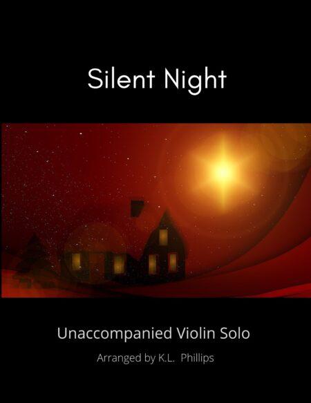 Silent Night - Unaccompanied Violin Solo title