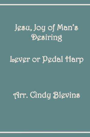 Jesu, Joy Of Man's Desiring, Harp Solo with recording, lever or pedal harp