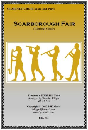 Scarborough Fair – Clarinet Choir (Sextet)
