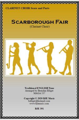 Scarborough Fair – Clarinet Choir (Sextet)