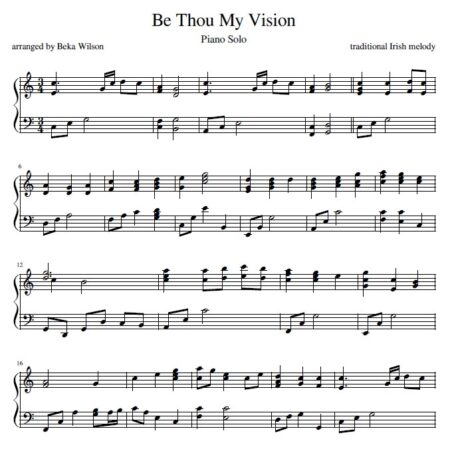 be thou my vision snip