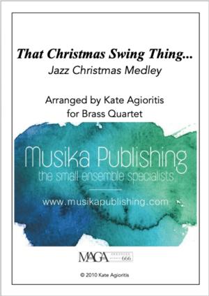 That Christmas Swing Thing – Brass Quartet