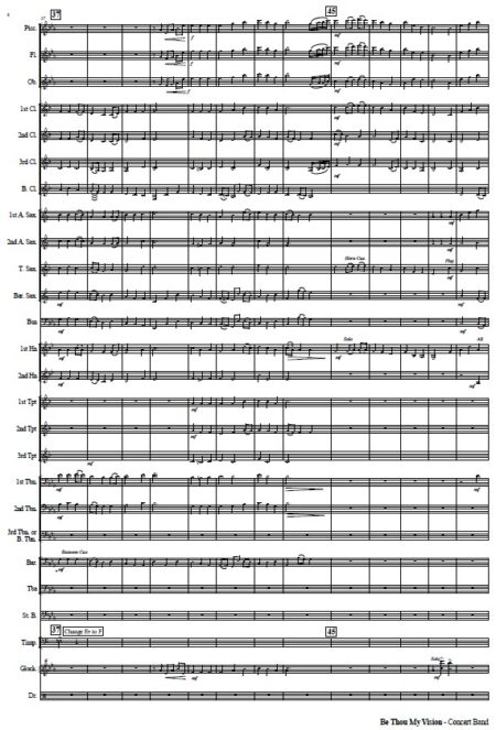 042 Be Thou My Vision CB with Strings SAMPLE page 04