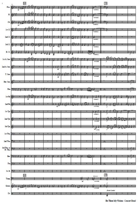 042 Be Thou My Vision CB with Strings SAMPLE page 02