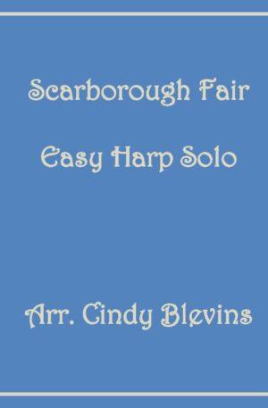 Scarborough Fair, Easy Harp Solo with recording
