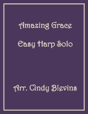 Amazing Grace, Easy Harp Solo with recording