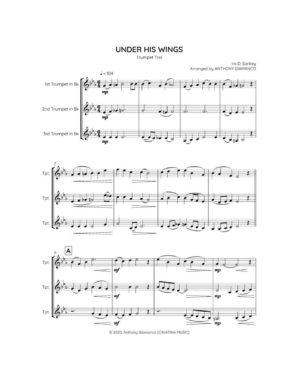 UNDER HIS WINGS (trumpet trio)