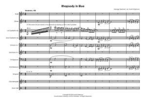 Rhapsody In Blue – wind octet / wind ensemble