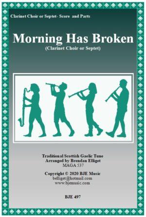 Morning Has Broken – Clarinet Choir or Septet