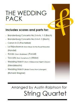 The Wedding Pack – string quartet book / bundle