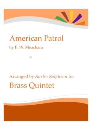 American Patrol – brass quintet