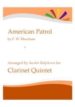 American Patrol – clarinet quintet