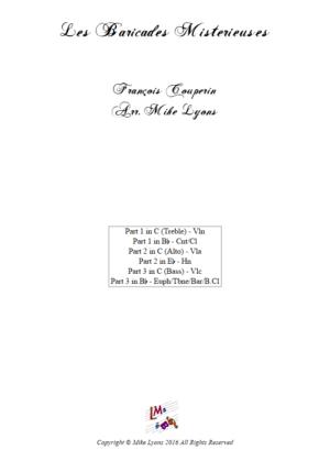 Flexi Trio – Les Baricades Misterieuses