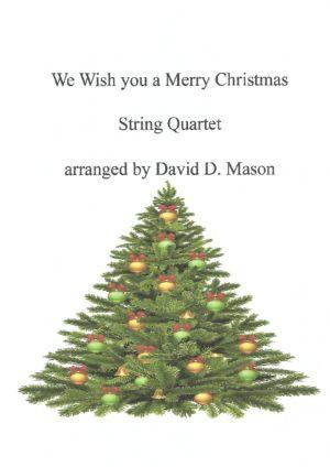 We Wish You a Merry Christmas- String Quartet