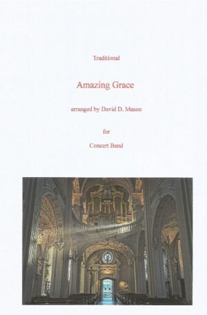 Amazing Grace- Concert Band + Bagpipes