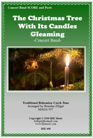 The Christmas Tree With Its Candles Gleaming – Concert Band
