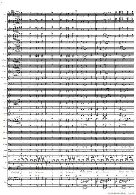 191 The Virgin Mary Had A Baby Boy Concert Band SAMPLE page 04