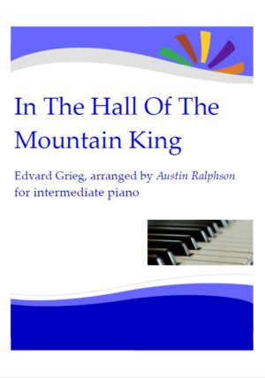 HALLOWEEN: In The Hall Of The Mountain King – for intermediate piano