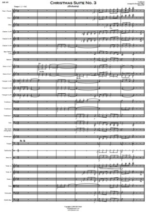 Christmas Suite No. 3 – Orchestra