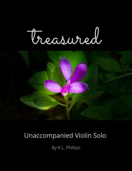 Treasured - Unaccompanied Violin Solo cover