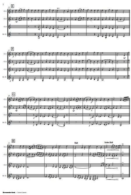 170 Sovereign King Clarinet Quartet SAMPLE page 02