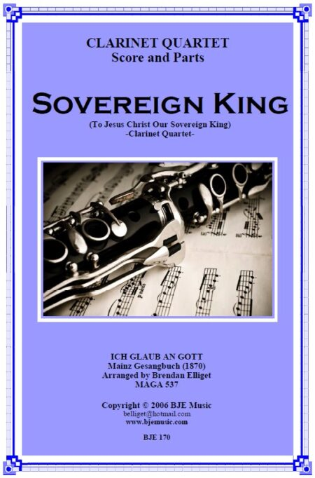 170 FC Sovereign King Clarinet Quartet