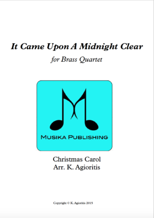 It Came Upon A Midnight Clear – Jazz Carol for Brass Quartet