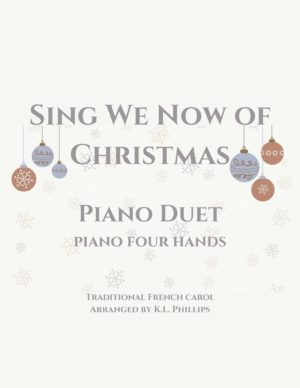 Sing We Now of Christmas – Piano Duet