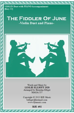 The Fiddler of June – Violin Duet and Piano