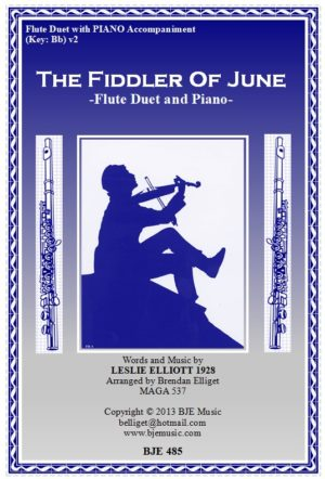 The Fiddler of June – Flute Duet with Piano