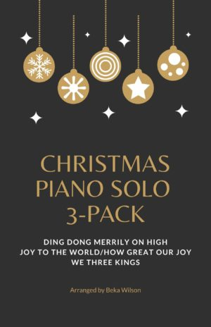 Christmas Piano Solo 3-Pack