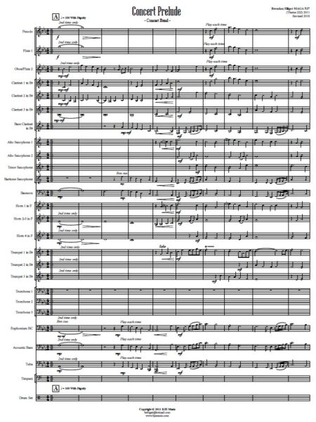 420 Concert Prelude Concert Band SAMPLE page 01