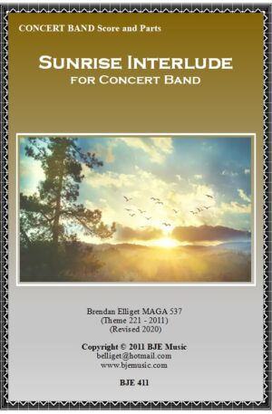 Sunrise Interlude – Concert Band