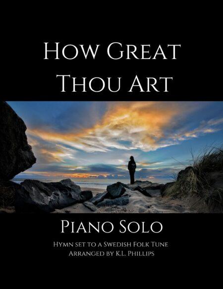 How Great Thou Art - Intermediate Piano Solo cover