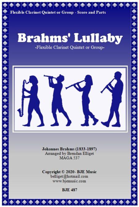 487 FC Brahms Lullaby Clarinet Quintet