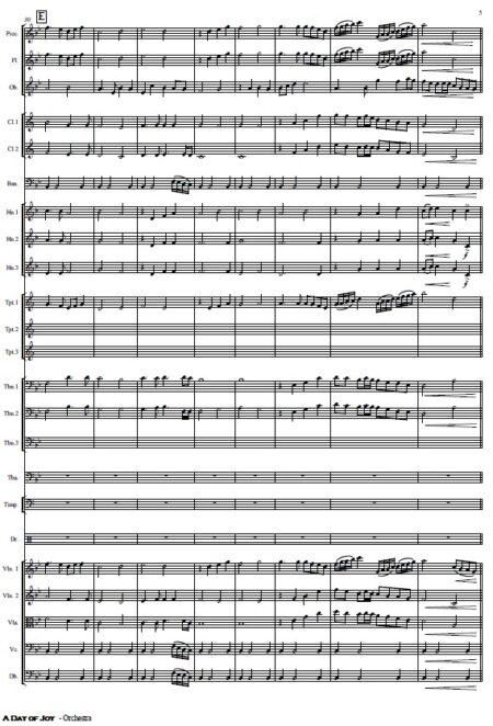 486 A Day of Joy Orchestra SAMPLE page 05