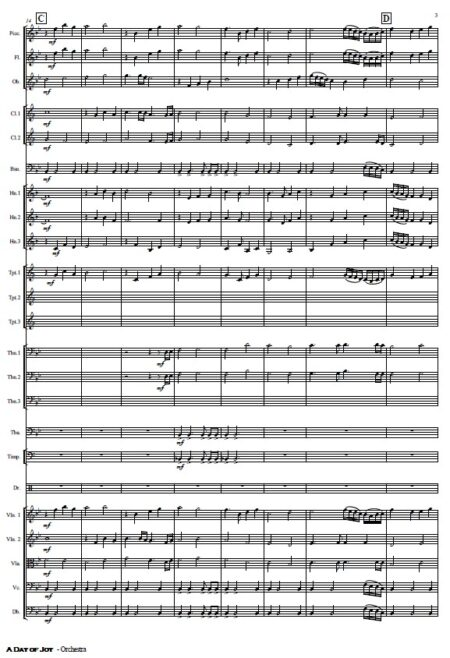 486 A Day of Joy Orchestra SAMPLE page 03